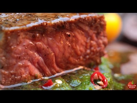 The Ultimate Steak! - Stone-Fried in the Forest