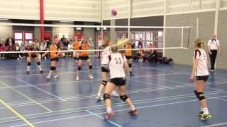 volleybal Flash Nieuwleusen dames 1 - Oranje Nassau dames 2