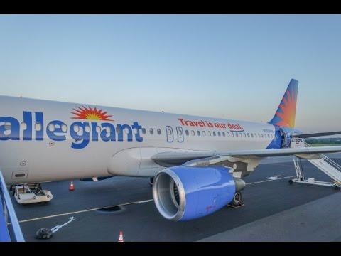 Allegiant Air Airbus A320 Concord Nc To Sanford Fl