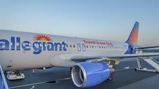 Allegiant Air Airbus A320 / Concord NC to Sanford FL