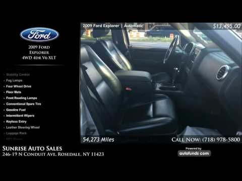 Used 2009 Ford Explorer | Sunrise Auto Sales, Rosedale, NY - SOLD