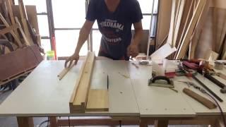 DIY ปรับปรุงโต๊ะเลื่อยวงเดือน ตอนที่ 3 รั้วซอยไม้