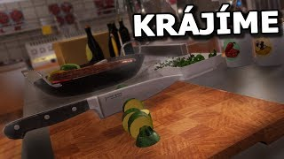 Nejreálnější simulace vaření... a krájení :D - Cooking Simulator #1