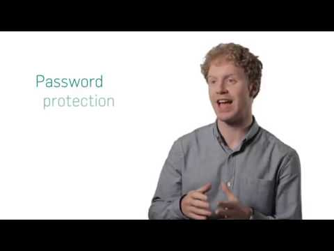 Protect with passwords