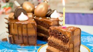 Мега Шоколадный Торт Моя Прага на мой День Рождения!  - Я - ТОРТодел!