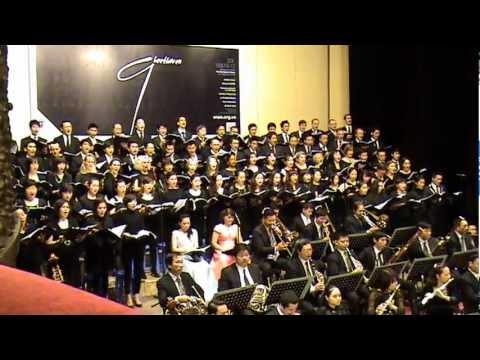 Beethoven 9 - An die Freude - Hanoi International Choir, Freude Choir, VNOB and VNSO