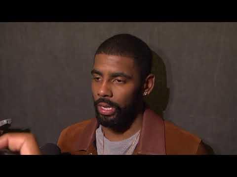 Kyrie Irving talks Celtics