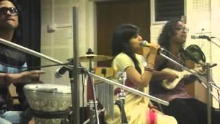 satyaki banerjee and sahana bajpaie singing majhi pal tule de