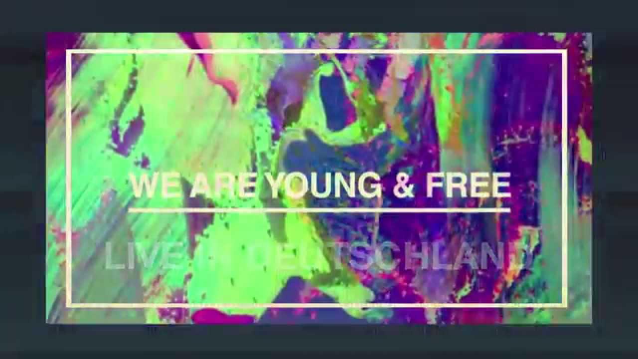 Hillsong Young & Free - Deutschland Tour 2015 - Dresden, Lemgo & Stuttgart - YouTube