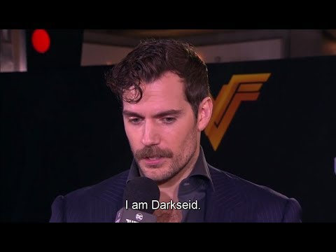 Henry Cavill's mustache 'Justice League' World Premiere
