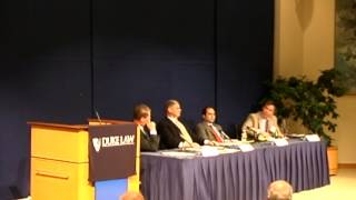 LENS Conference 2009 | Detaining and Prosecuting Terrorists: Establishing a New Paradigm