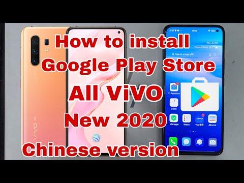How to install Google Play store vivo