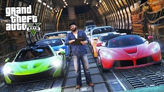 GTA 5 Real Life Mod #41 - SELLING & TRANSPORTING EXOTIC SUPERCARS!! (GTA 5 Mods)
