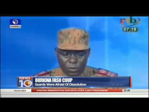 News@10: Burkina Faso Coup: Checking Illegality In Africa 20/09/15 Pt. 4