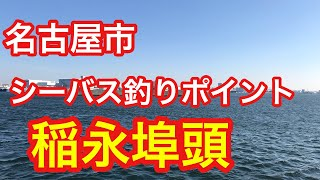 稲永埠頭  名古屋市 シーバス釣りポイント thumbnail