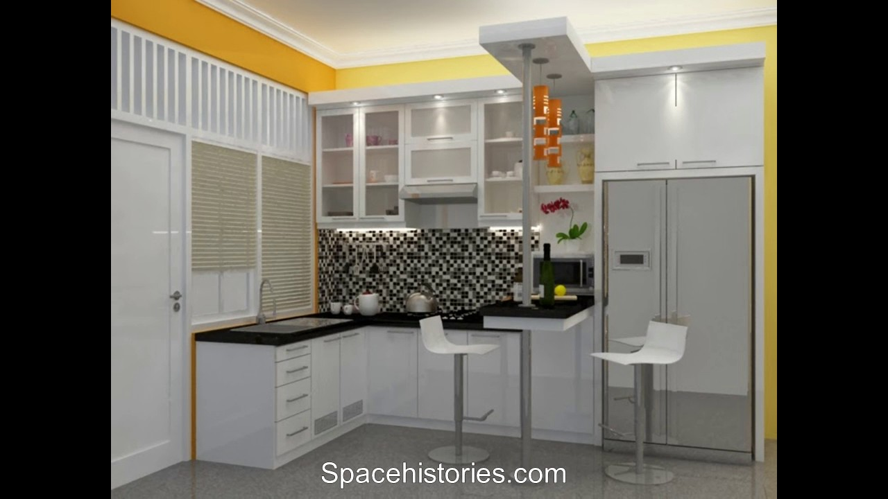 Design kitchen set for small houses