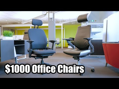 Steelcase Gesture And Leap V2 Office Chairs - First Impressions On $1000 Ergonomic Task Chair