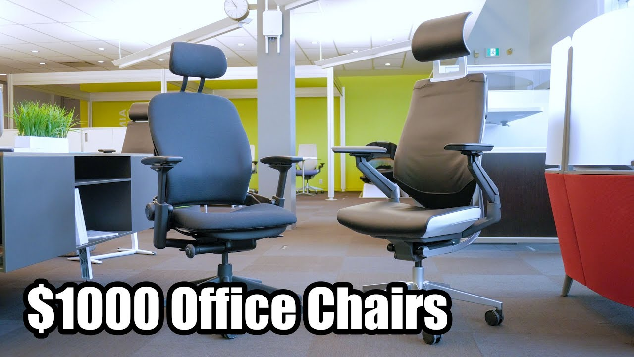 Steelcase Gesture And Leap V2 Office Chairs   First Impressions On $1000  Ergonomic Task Chair