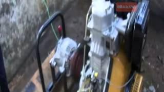 MOTOR BUFFALO BFD 10,0 E ALTERNADOR PARA RECARGA DE BATERIAS Brasutil