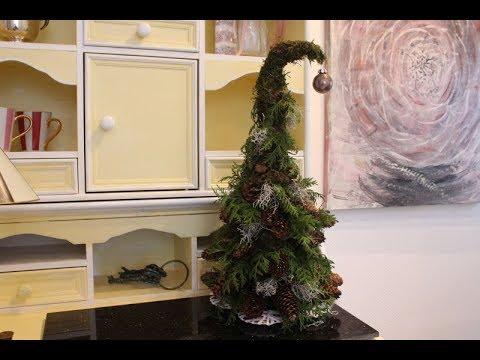 Weihnachtsdeko Zapfenbaum Barbel S Wohn Deko Ideen