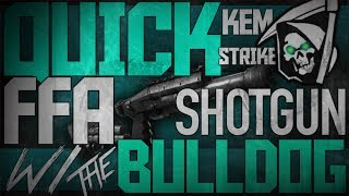 Cod Ghosts:ffa K.e.m W/ Bulldog (shotgun)