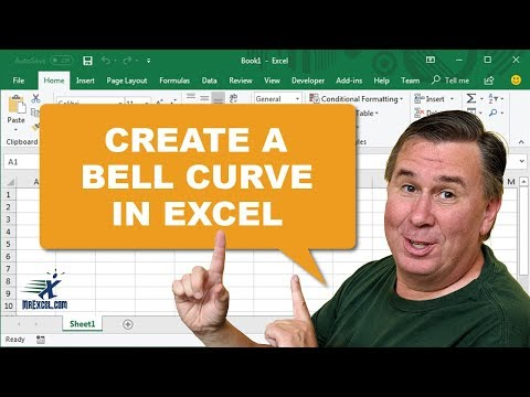 "Learn Excel from MrExcel - ""Create A Bell Curve in Excel"": Podcast #1663"