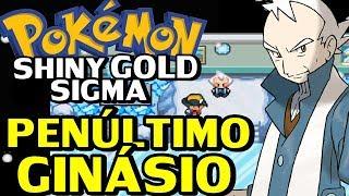 Pokémon Shiny Gold Sigma (Detonado - Parte 15) - Penúltimo Ginásio!