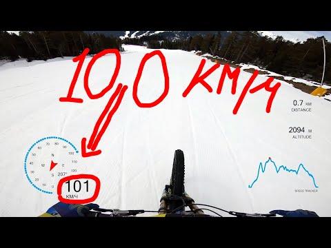 Проверка велосипедиста на горнолыжном курорте Красная Поляна. Иван Кунаев @Иван Кунаев