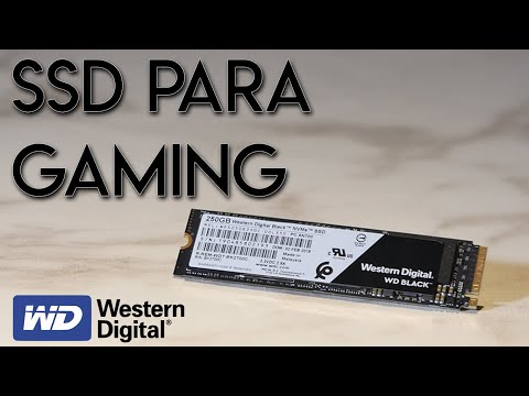 ¿Un SSD para Gaming? | Review SSD SN 750 250gb Western Digital