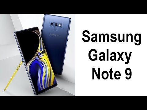 Official Samsung Galaxy Note 9 Fully Revealed + Release Date