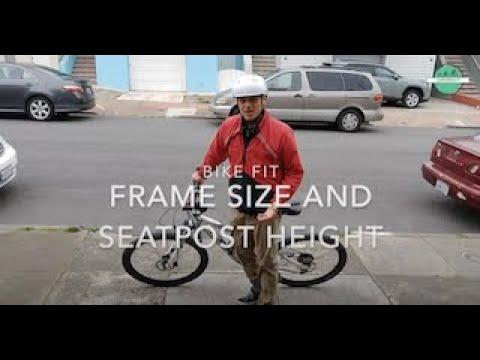 Biking Basics: Bike Fit - Frame Size and Seatpost Height