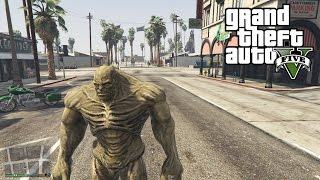 GTA 5 Mods - THE ABOMINATION!  (GTA 5 Funny Moments)