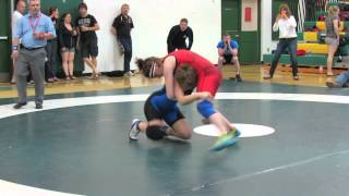 2013 Ontario Canada Summer Games Trials: 65 kg Gabrielle Fairhurst vs. Alex Hoffman