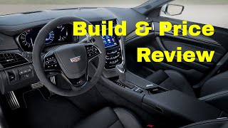 2019 Cadillac CTS-V Sedan - Build & Price Review: Features, Gallery, Trim, Colors, Specs
