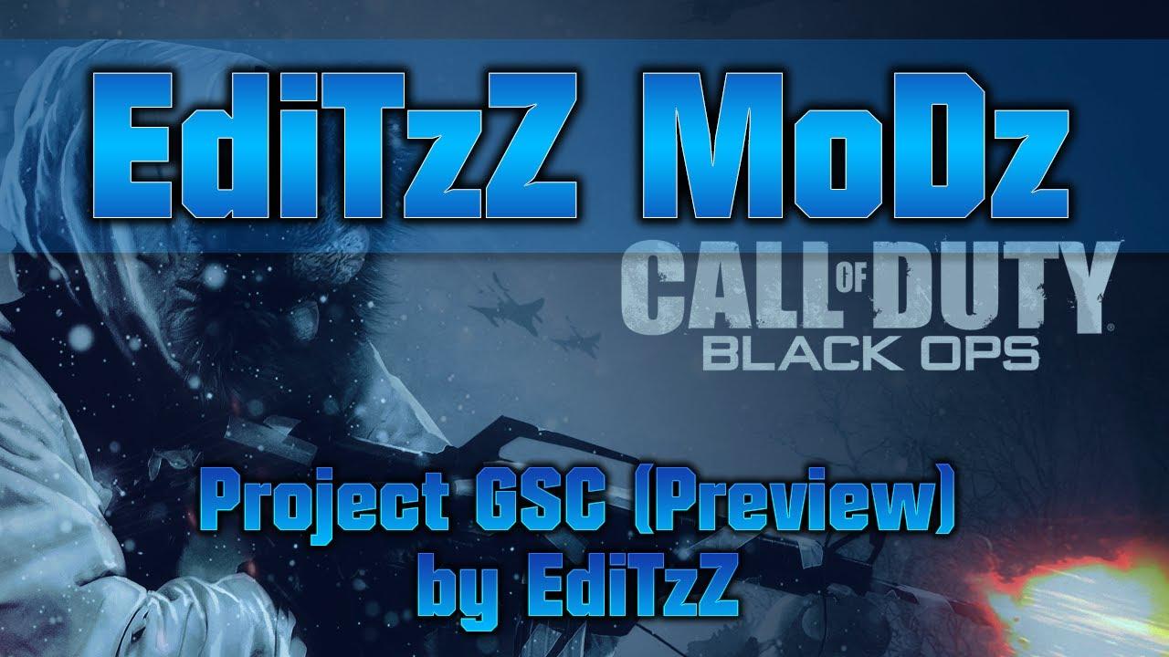 [BO1/PS3] Project GSC Mod Menu (Preview)