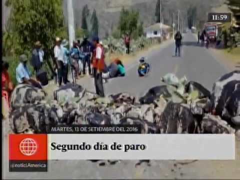 América Noticias: [TITULARES MEDIODIA 13/09/16]