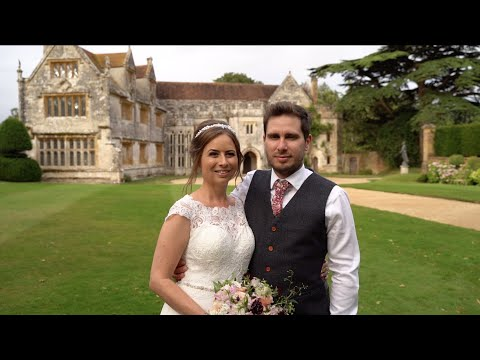 Emily & Dafydd's Athelhampton House Wedding