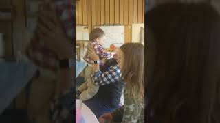 A clip from Saturday aka a baby shower. Before the girl had the baby