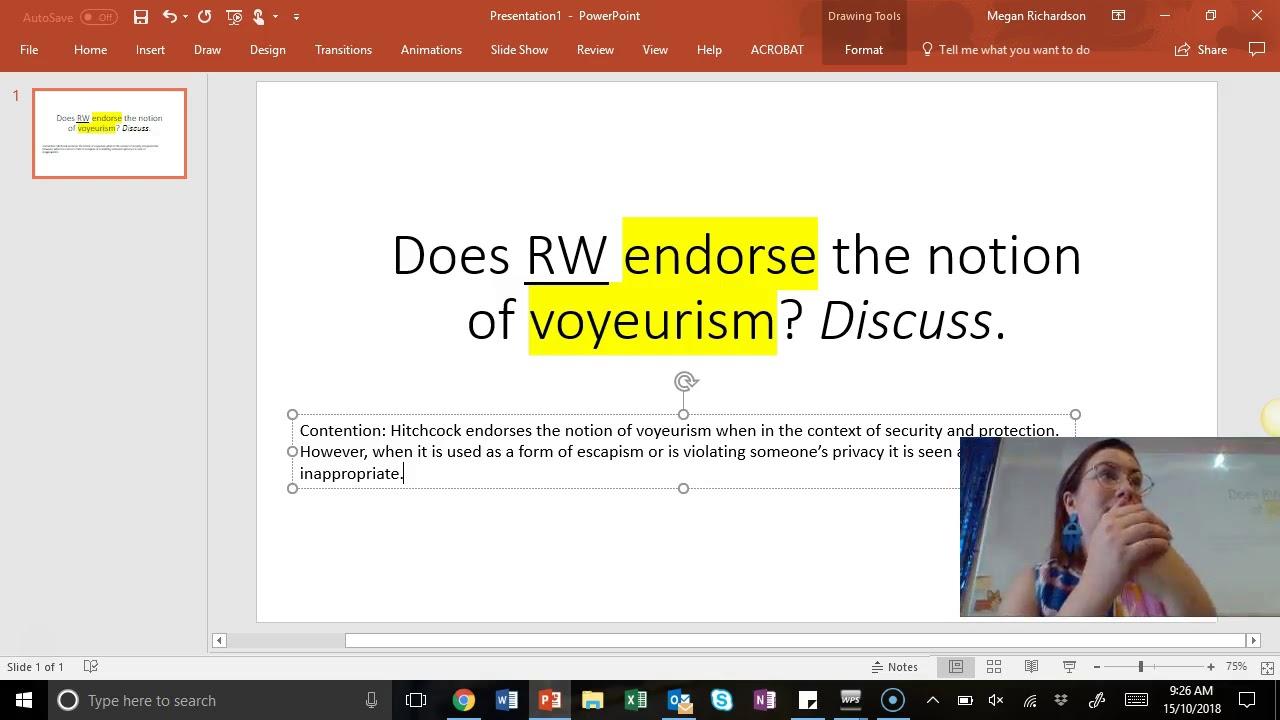 Rear Window Essay Question Does Rw Endorse Voyeurism  Youtube Rear Window Essay Question Does Rw Endorse Voyeurism