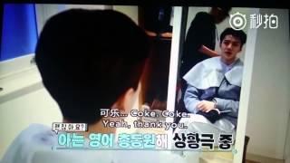 EXO Second Box Sehun speaking English