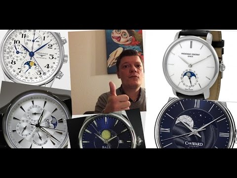 Five Beautiful And Affordable Moonphase Watches