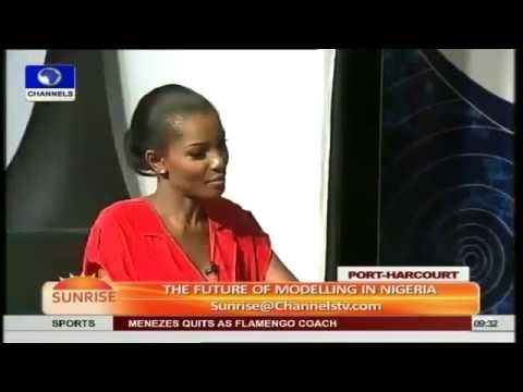 Nigerian Fashion Industry Is Next Big Thing -- Agbani Darego Pt.2