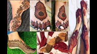 Most beautiful feet mehndi designs for Eid|| easy mehndi designs for leg || #legmehndi #mehndidesign