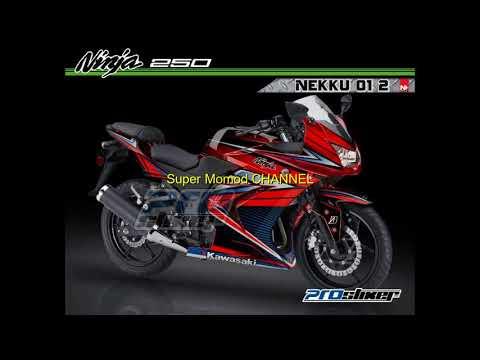 modifikasi-dif-ninja-250-karbu-merah-keren