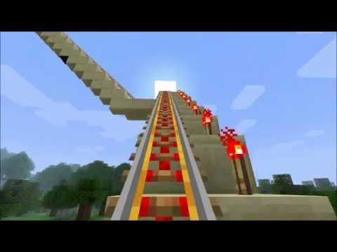 Minecraft | Die Längste Achterbahn Von 2012! 18min. O_o