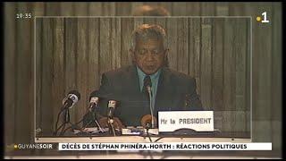 Décès De Stéphan Phinéra-Horth : Réactions Politiques