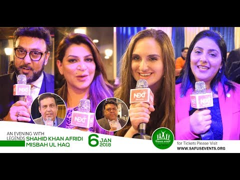Shahid Afridi Fundraising Dinner - DMV Business Community Support