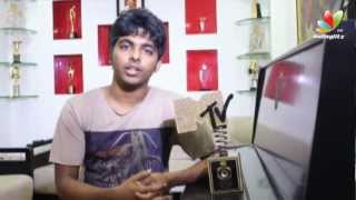 GV Prakash Claims the Best Regional Song Video Category Award for Uyirin Uyire | Thandavam |