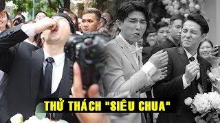 """Ông Cao Thắng BẤT NGỜ gặp THỬ THÁCH """"siêu chua"""" của Đông Nhi trước khi rước dâu!"""