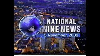 Repeat youtube video QTQ9 National Nine News November 5, 2002